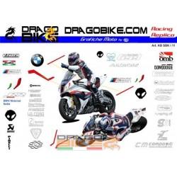 Motorbike Stickers Kit BMW...