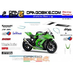 Adhesivos Moto Kawasaki...