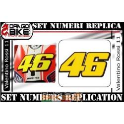 Dorsal 46 Valentino Rossi 2011