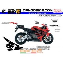 Stickers Kit Honda CBR 600 RR rossa 2004