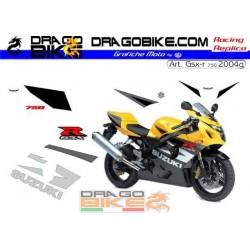 Stickers Kit Suzuki GSX-R750 2004