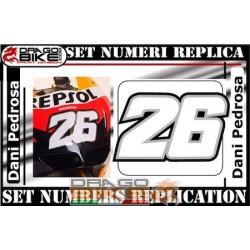 Номер 26 Dany Pedrosa 2011