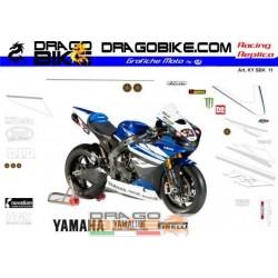 Набор Наклеек Yamaha SBK 2011