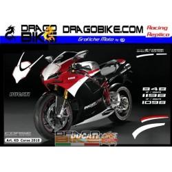 Stickers Ducati 2010 Corse...