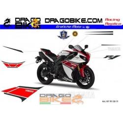 Stickers Kit Yamaha R1 WGP 50 Anniversary
