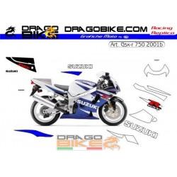 Stickers Kit Suzuki GSX-R...