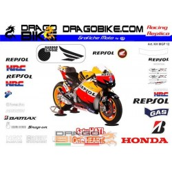 Adhesivos Moto Honda MotoGP...
