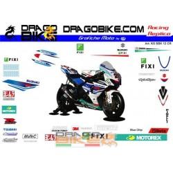 Adhesivos Moto Suzuki SBK 2012