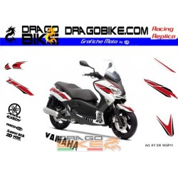 Stickers Kit X-Max 50th Anniversary WGP (Red)