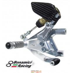 Rearsets Ergal for Ducati...