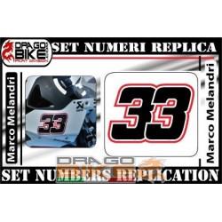 Race Number 33 Marco Melandri 2012