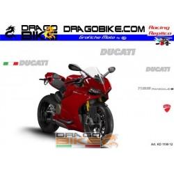 Stickers Kit Ducati 1199 Panigale 2012