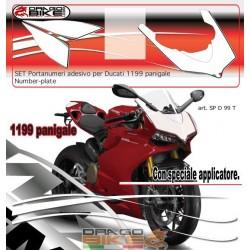 Наклеики под Номер Ducati...