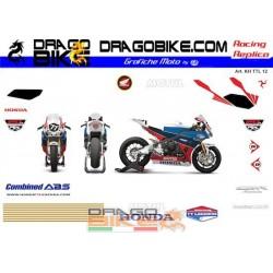 Набор Наклеек Honda...