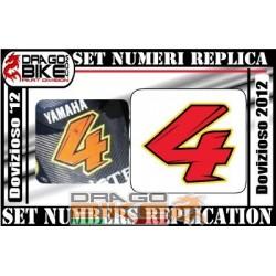 Номер 4 Dovizioso 2012