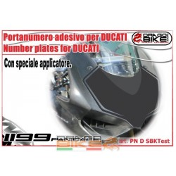 Number plate Racing  Ducati...
