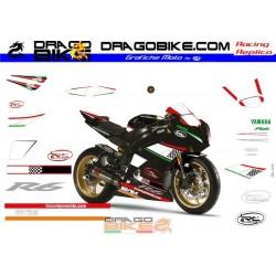 Набор Наклеек Yamaha R6 IRC