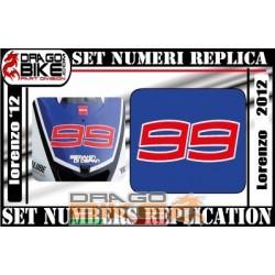 Numero Gara 99 Jorge...