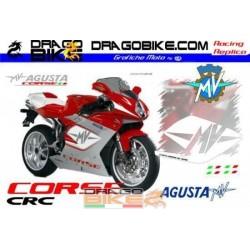 Набор Наклеек MV Agusta corse