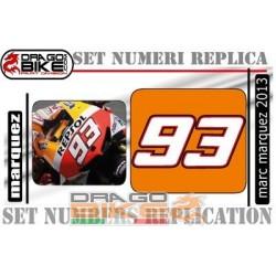 Race Number 93 Marc-Marquez  2013