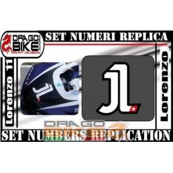 Race Number 1 Jorge Lorenzo 2011