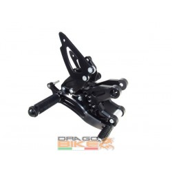 Rearsets Ergal for  BMW...