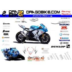 Набор Наклеек Suzuki Team...