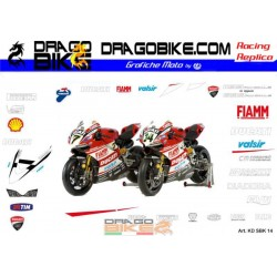 Набор Наклеек Ducati SBK 2014