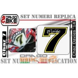Race Number 7 Chaz Davies 2014