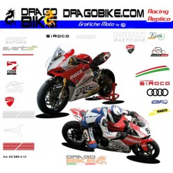 Kit Adesivo Moto Ducati...