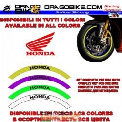 Contorno de Llantas Honda