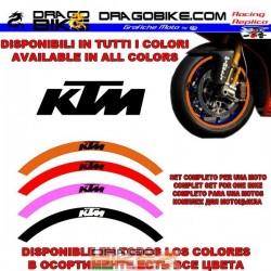 Contorno de Llantas KTM