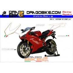 Набор Наклеек Ducati 1098 r