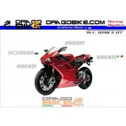 Stickers Kit Ducati 1098 S