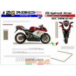 Kit adhesivo Ducati 1098...
