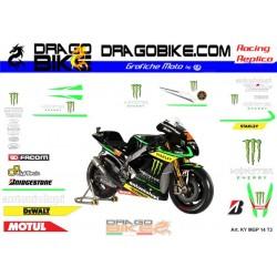 Adhesivos Moto Yamaha Tech3...