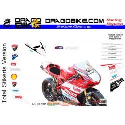 Adhesivos Moto Ducati  SBK...