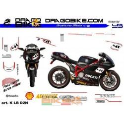 Stickers Kit For Moto Ducati