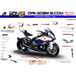 Motorbike Stickers Kit BMW Superbike 2015 Plus
