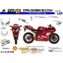 Набор Наклеек Moto Ducati.