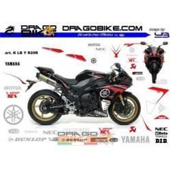 Набор Наклеек K LB Yamaha R20R