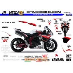 Adhesivos Moto K LB Yamaha R20
