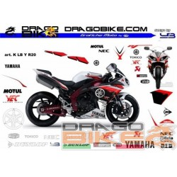 Stickers Kit K LB Yamaha R20