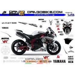 Adhesivos Moto K LB Yamaha...