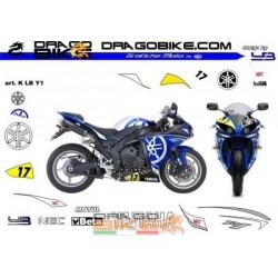 Adhesivos Moto Yamaha.