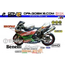 Motorbike Stickers Kit Benelli Tornado SBK Team