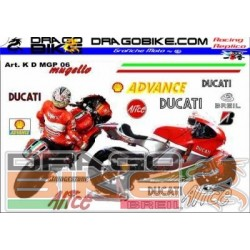 Набор Наклеек Ducati Motogp...