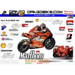 Adhesivas Motos Ducati...