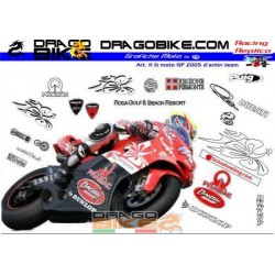 Stickers Kit Ducati team...