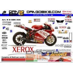 Набор наклеек Ducati Xerox...